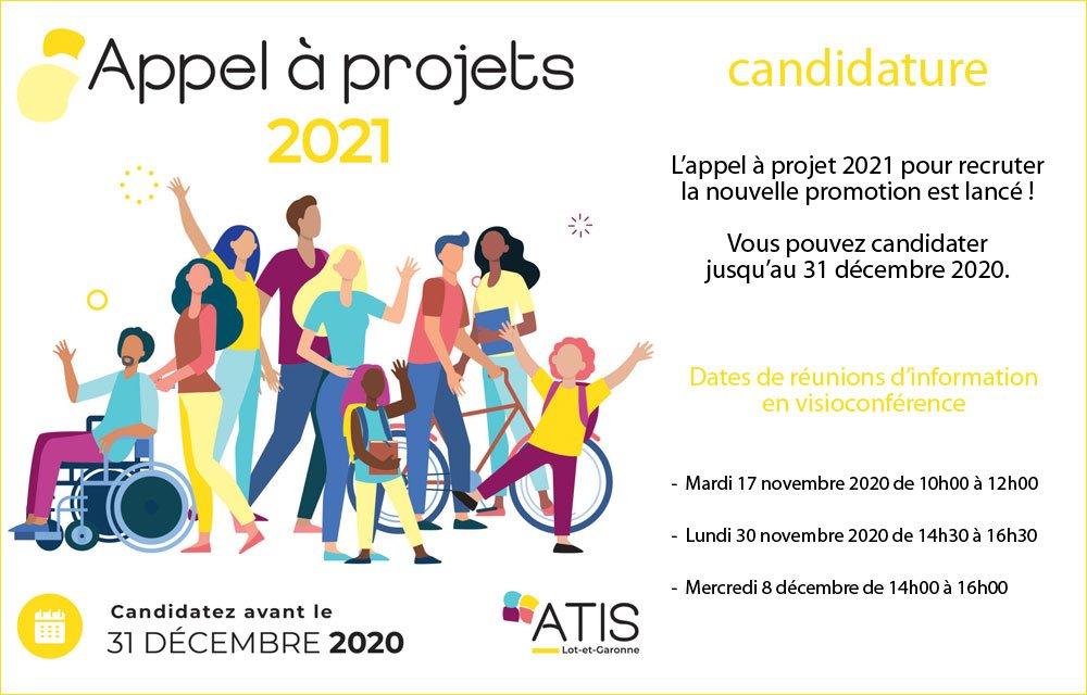 ATIS Lot-et-Garonne lance son appel à projet !