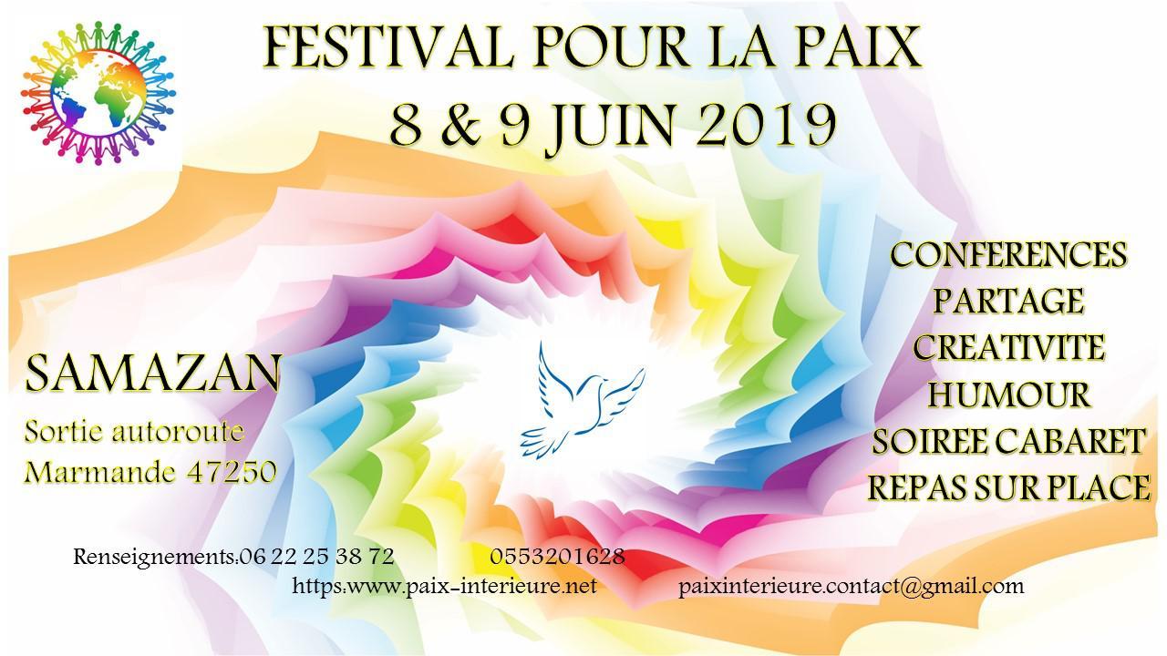 19/04 : Quartier 12 à l'honneur et Festival pour la paix