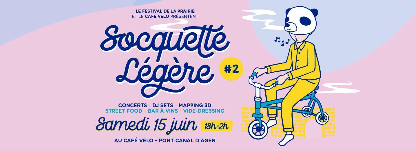 13/06 : Emission spéciale festival Socquette Légère