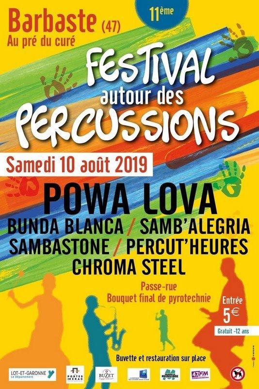 09/08 : Festival autour des Percussions et CEDP47