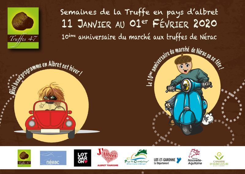 13/01 : Les semaines de la Truffe en Albret & Association Resp'Air