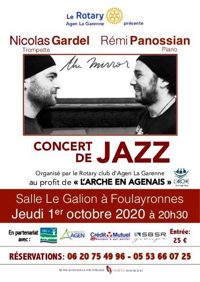 Le Rotary Club Agen La Garenne organise un concert au profit de l'Arche en Agenais