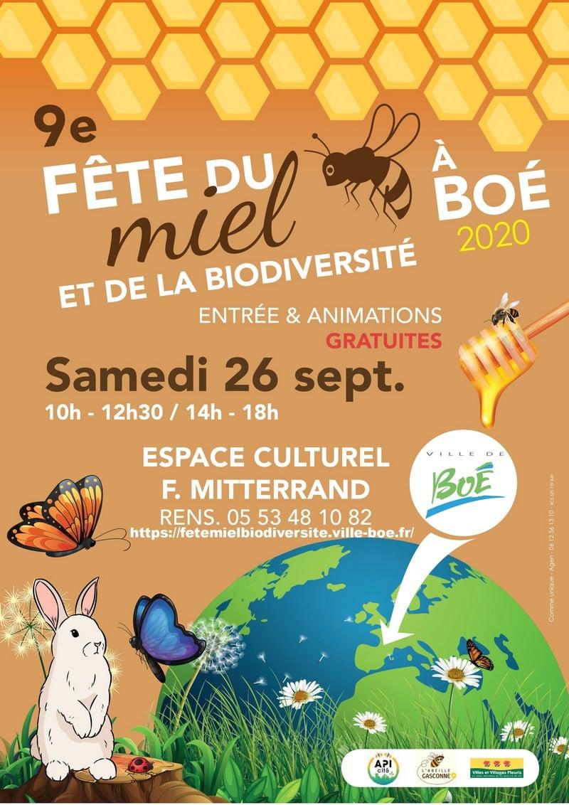 La Fête du Miel et de la Biodiversité de Boé