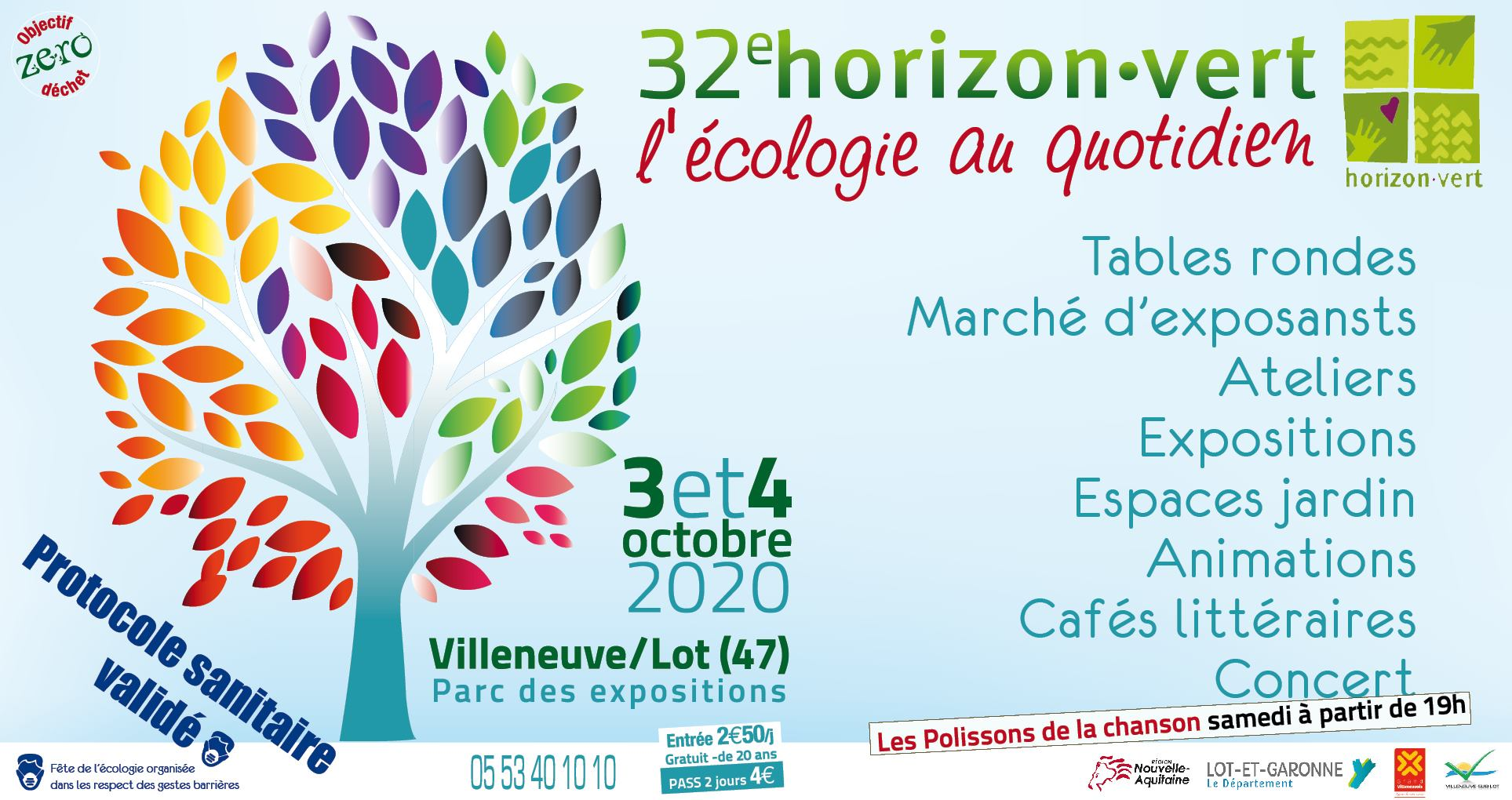 Le 32e Salon HORIZON VERT à Villeneuve-sur-Lot