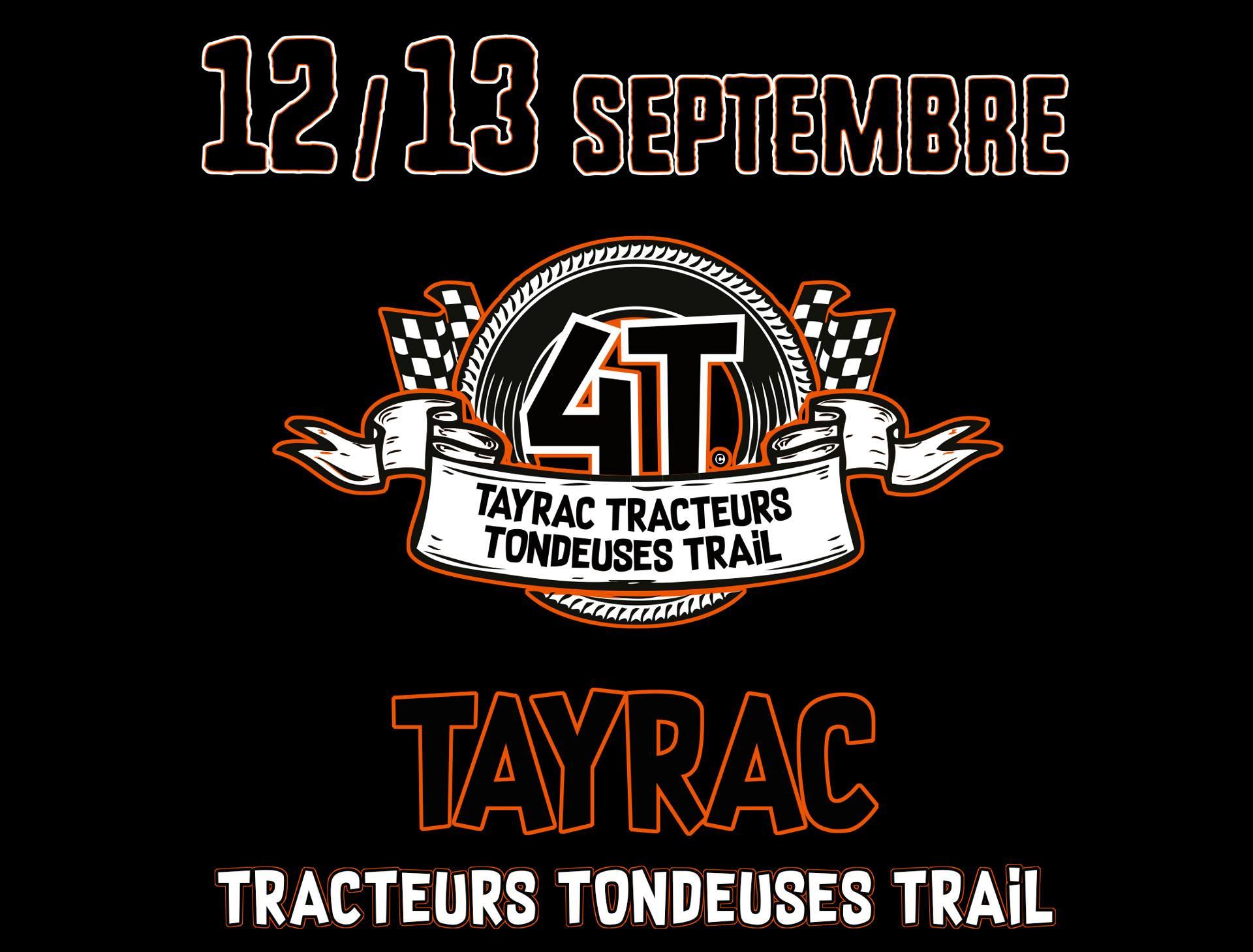 4T : Tayrac Tracteurs Tondeuses Trail 2020