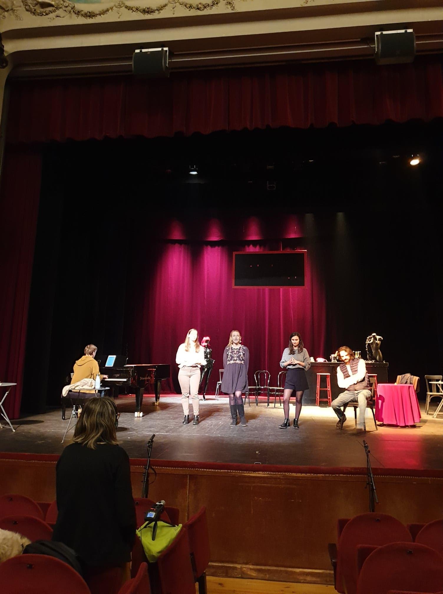 La compagnie les Chants de Garonne en résidence au Théâtre Ducourneau