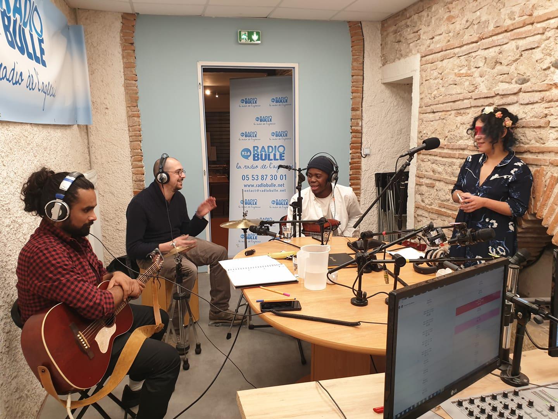 Jolie Môme en concert sur Radio Bulle !