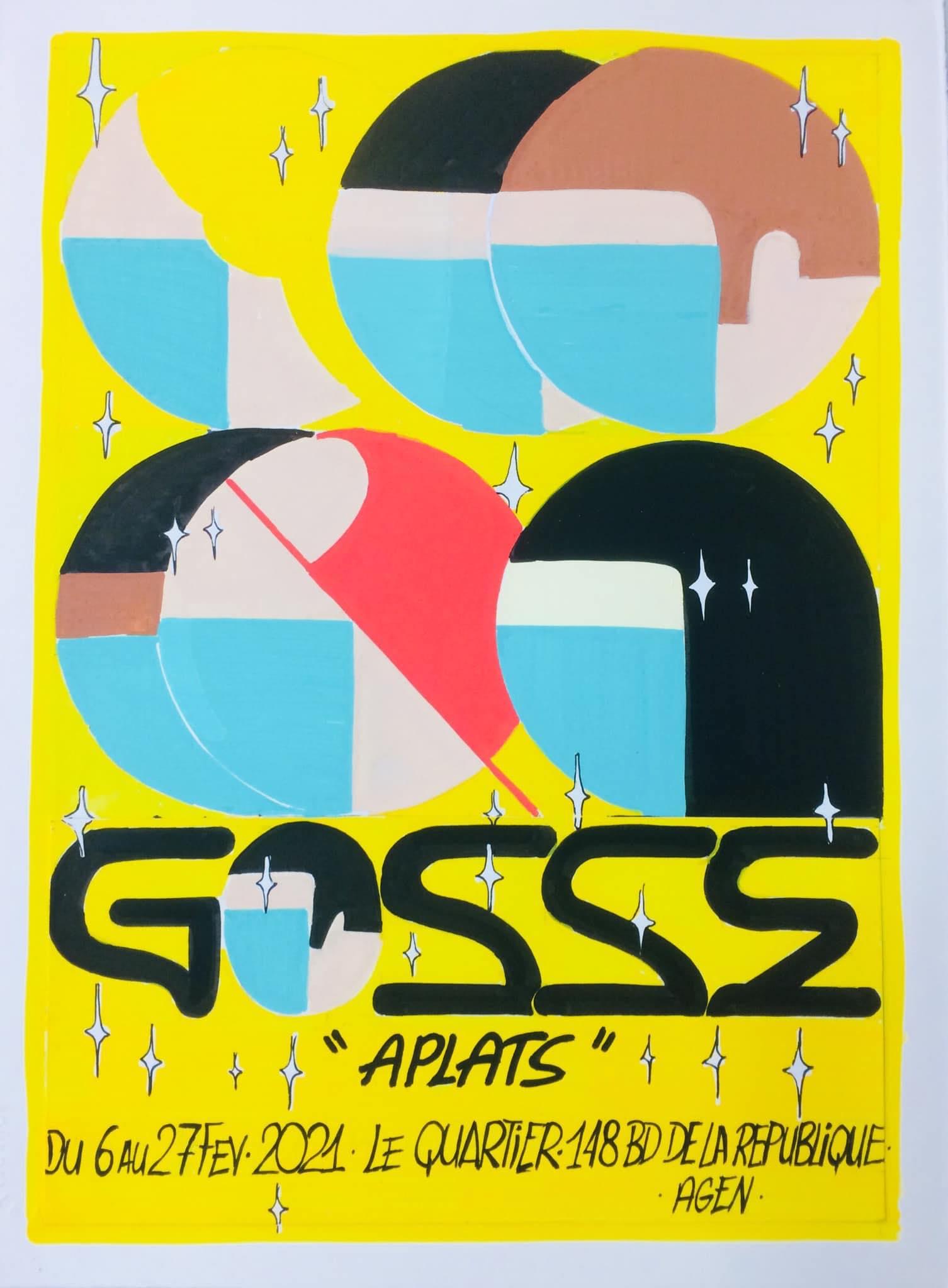 Le quARTier présente l'exposition «Aplats» de Julien Gosse