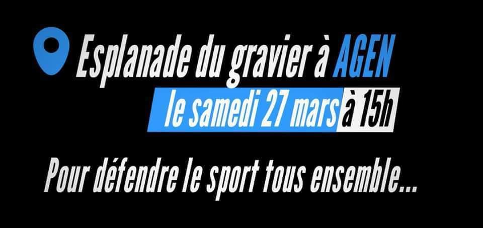 Le Sport dans la rue à Agen ce samedi !