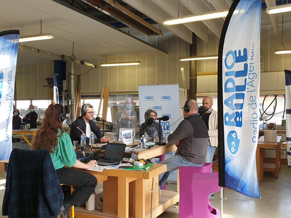 Radio Bulle en direct du BTP CFA 47 à la rencontre des apprentis, formateurs et intervenants!