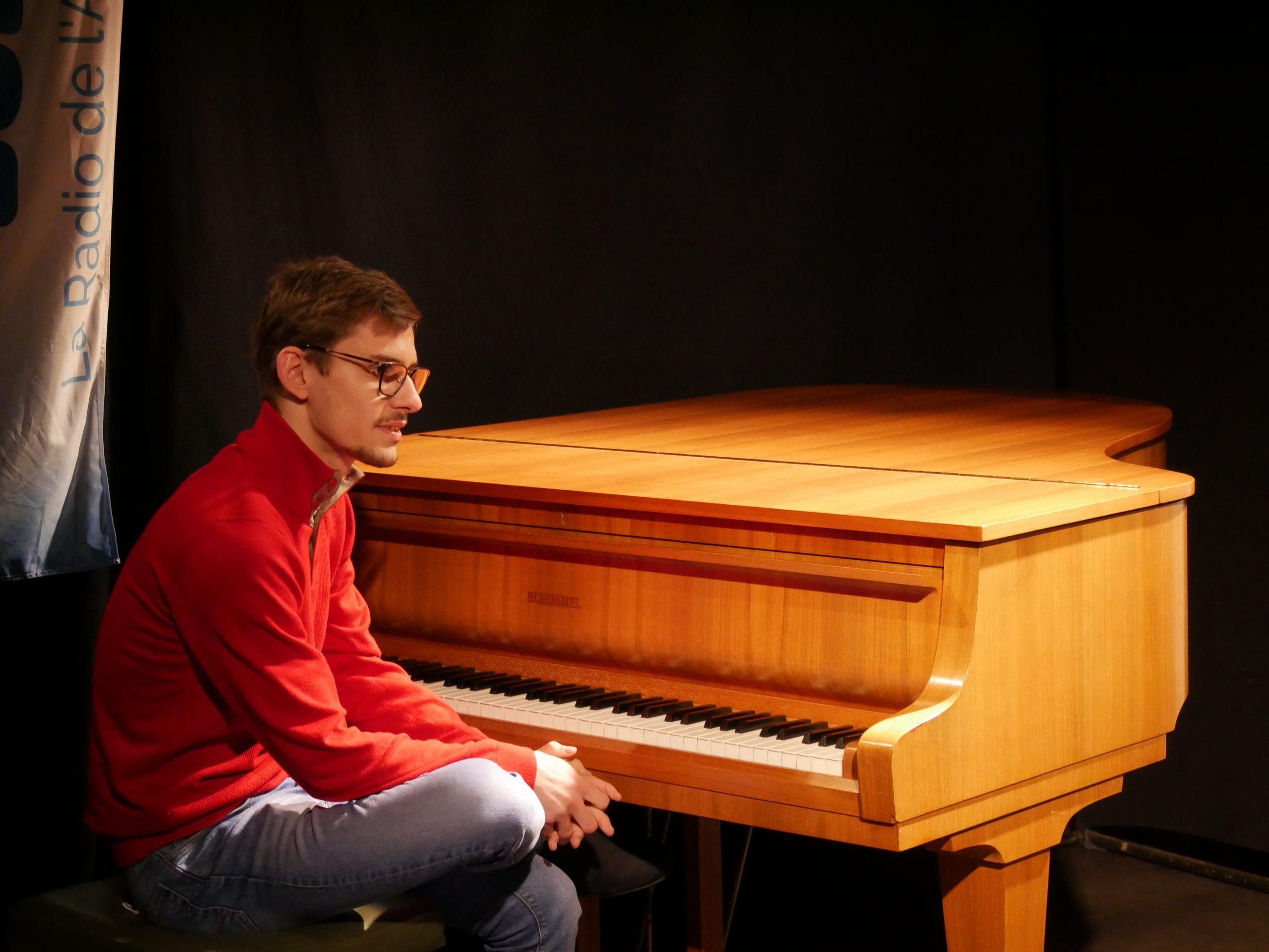 Le pianiste lot-et-garonnais Gabriel Sarrou Vergnac prépare son premier album